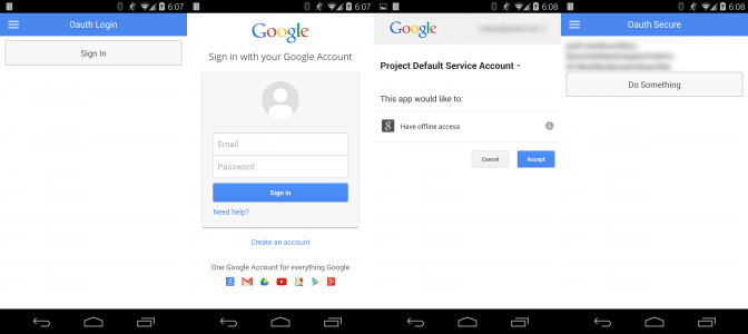Using An Oauth 2 0 Service With Ionic Framework