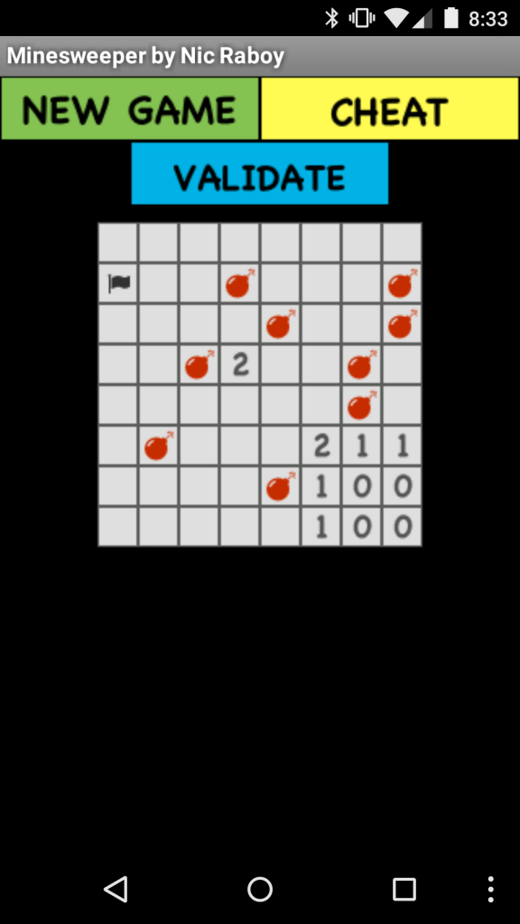 Create A Minesweeper Game With Native Android