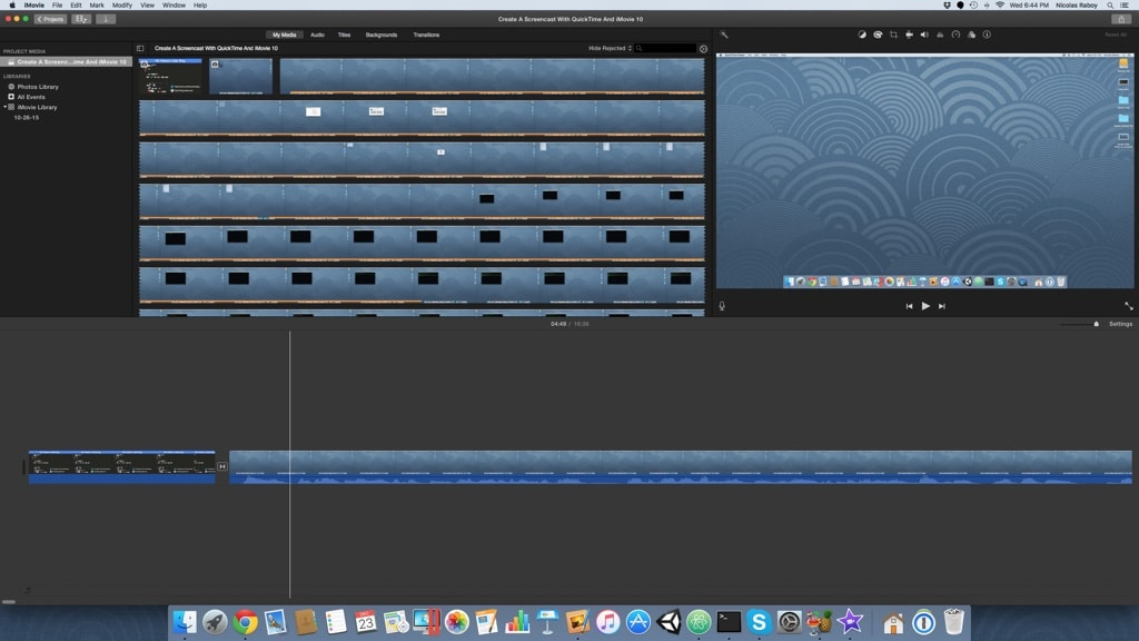 Active iMovie 10 Project