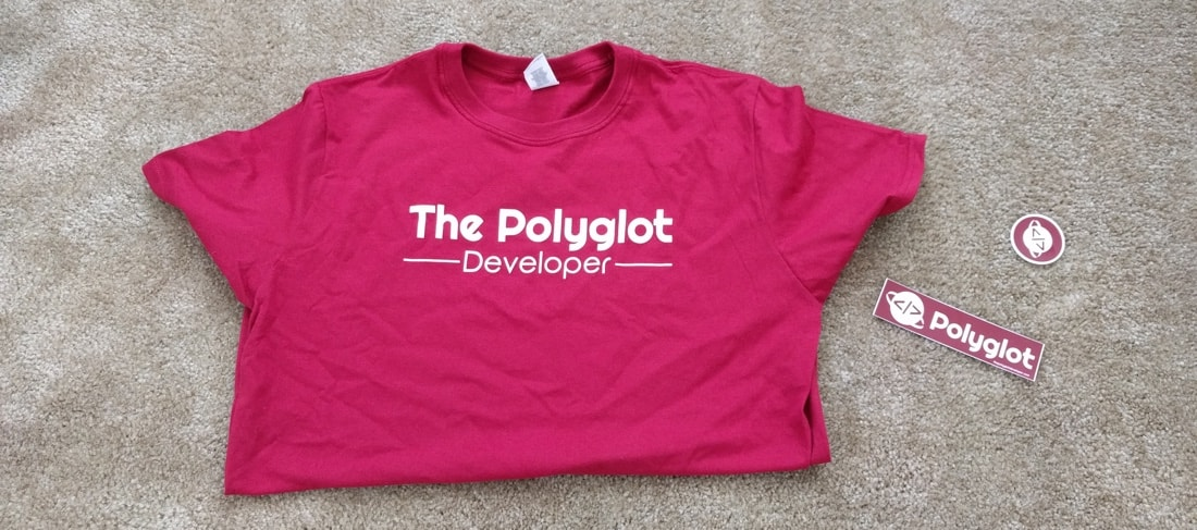 Polyglot Developer Shirts and Stickers