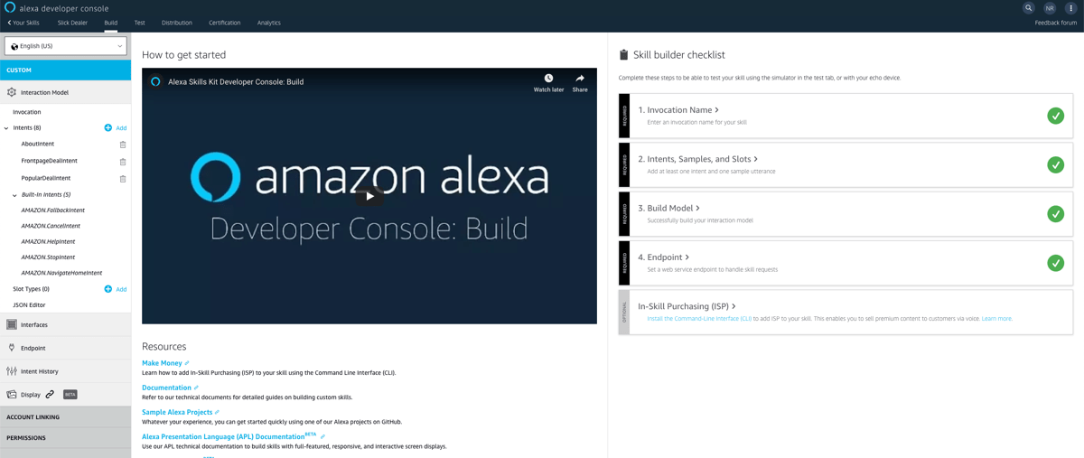 Building Amazon Alexa Skills With Node js, Revisited
